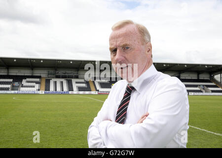 Soccer - St Mirren Press Conference - Tommy Craig Unveiling - St Mirren Park - Stock Photo