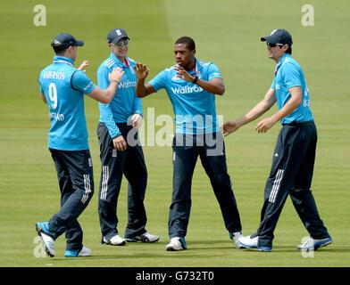 Cricket - Royal London One-Day International Series - Fourth One Day International - England v Sri Lanka - Lords - Stock Photo