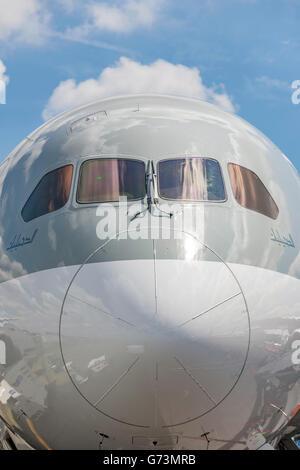 Qatar Airways Boeing 787-8 Dreamliner A7-BCM - Stock Photo