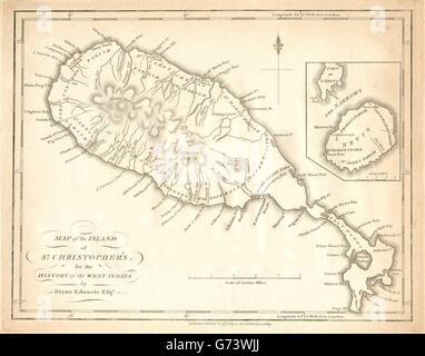 British West Indies Saint Kitts and Nevis Nevis Charlestown