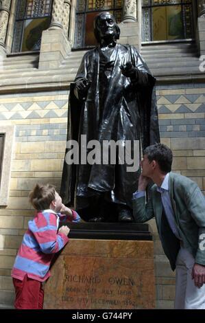 Richard Owen 200th anniversary - Stock Photo