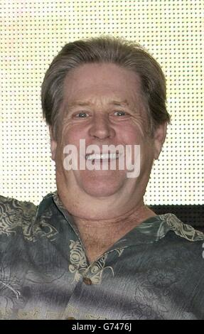 Former Beach Boy Brian Wilson during an instore signing at HMV Oxford Street in central London, to promote his new album 'Gettin' In Over My Head'.