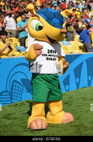 Soccer - FIFA World Cup 2014 - Group H - Belgium v Russia - Maracana - Stock Photo
