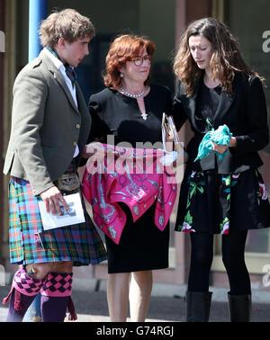 David MacLennan funeral - Stock Photo