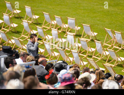 Horse Racing - The Royal Ascot Meeting 2014 - Day Five - Ascot Racecourse - Stock Photo