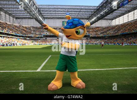 Soccer - FIFA World Cup 2014 - Group B - Australia v Spain - Arena da Baixada - Stock Photo