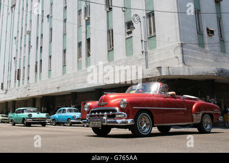Celebration Of Classic Cars Havana