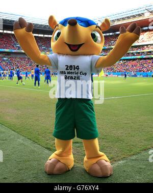 Soccer - FIFA World Cup 2014 - Round of 16 - Costa Rica v Greece - Arena Pernambuco - Stock Photo