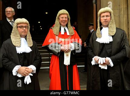 New Attorney and Solicitor General are sworn in - Stock Photo
