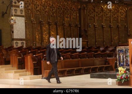 Montserrat, Barcelona, Spain. 25th June, 2016. The 6th international festival of the organ of Montserrat with Olivier - Stock Photo