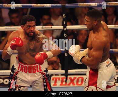 London, UK. 25th June, 2016. IBF World Heavyweight Championship. Anthony Joshua versus Dominic Breazeale. - Stock Photo