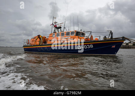 Fleetwood, UK. 26th June, 2016. The William Street lifeboat in Fleetwood Lancashire. The Kenneth James Pierpoint, - Stock Photo