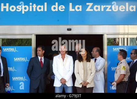 David Beckham Real Madrid Medical - Stock Photo