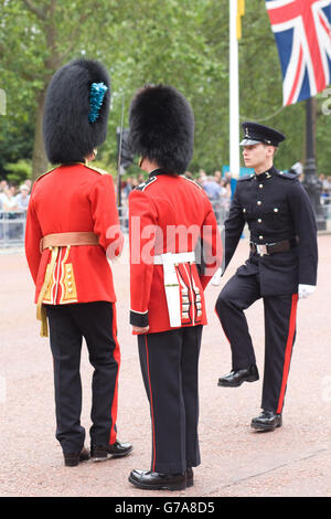 The Queen's Household Guard - Stock Photo