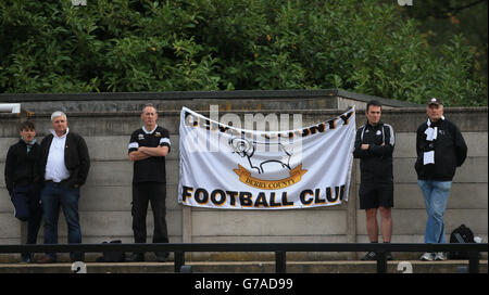Soccer - Barclays U21 Premier League - Arsenal U21 v Derby County U21 - Meadow Park - Stock Photo