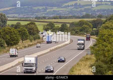 M5 Accident Stock Photo: 107799561 - Alamy
