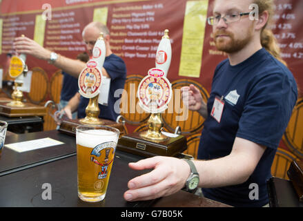 Great British Beer Festival - Stock Photo