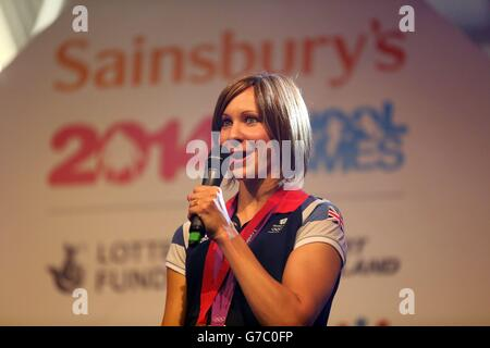 Sport - Sainsbury's 2014 School Games - Day Four - Manchester - Stock Photo