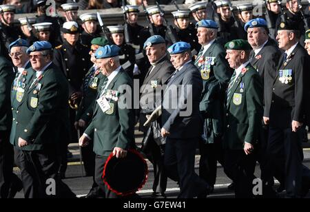 Remembrance Sunday - Stock Photo