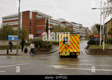St George's Hospital Tooting - Stock Photo