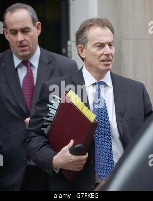 Tony Blair Prime Ministers question time - Stock Photo