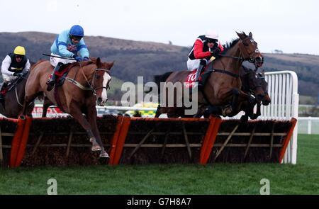 Horse Racing - The International - Day One - Cheltenham Racecourse - Stock Photo