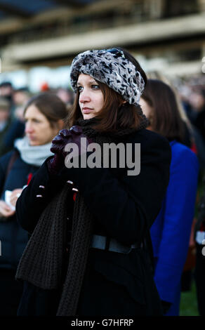 Horse Racing - Tingle Creek Day - Sandown Park - Stock Photo