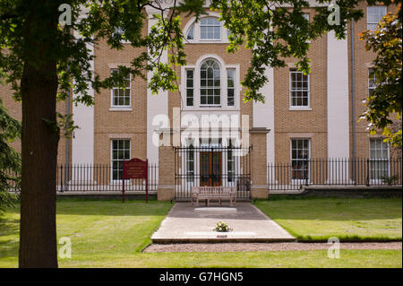 The Margaret Thatcher Infirmary at the Royal Hospital Chelsea in central London. - Stock Photo