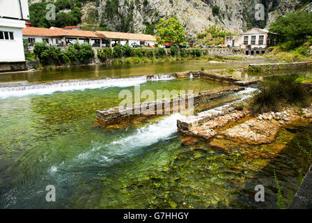 Kotor, Montenegro fortifications around the old city - Stock Photo