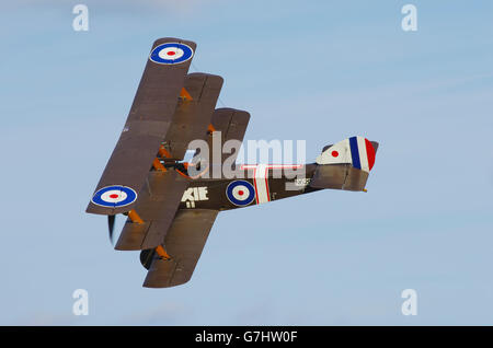 Sopwith Triplane at Shuttleworth Collection - Stock Photo
