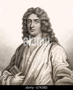 Anthony Ashley Cooper, 3rd Earl of Shaftesbury, 1671-1713, an English politician, philosopher and writer - Stock Photo