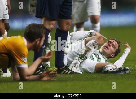 Soccer - Scottish Premiership - Celtic v Motherwell - Celtic Park - Stock Photo