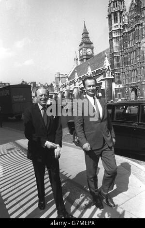 Politics - Campaign To Release Rudolf Hess - Airey Neave and Wolf Hess - Westminster, London - Stock Photo