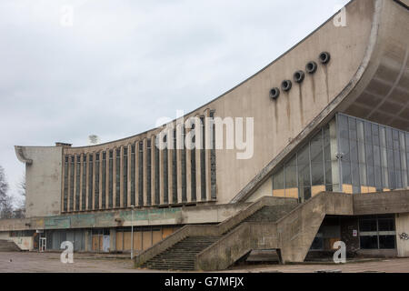 Vilnius Sport complex and Palace of Concerts and Sports, also known as the Sporto Rūmai, Vilnius, Lithuania, Europe, - Stock Photo