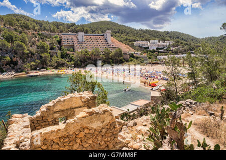 Puerto de San Miguel, Ibiza, Spain. - Stock Photo