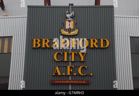 Soccer - FA Cup - Fifth Round - Bradford City v Sunderland - Valley Parade - Stock Photo