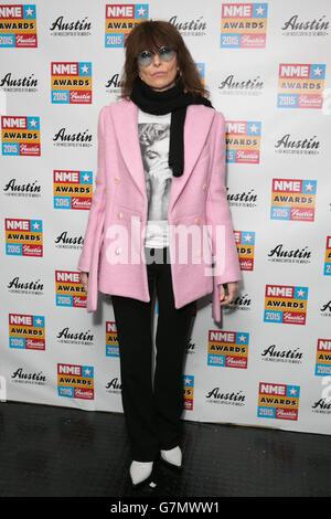 NME Awards 2015 with Austin Texas - London - Stock Photo