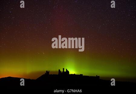 Northern lights show - Stock Photo
