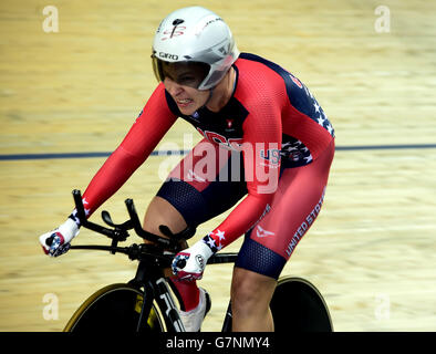 Sarah HAMMER Women's Omnium Time Trial UCI Track Cycling ...