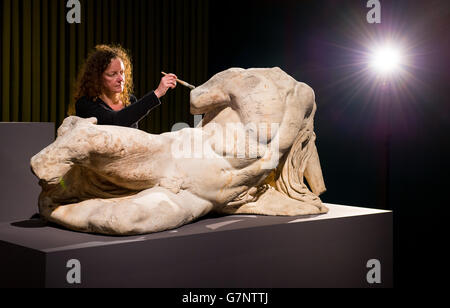 Defining Beauty: the Body in Ancient Greek Art exhibition - Stock Photo