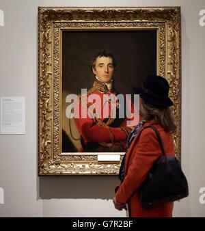 Wellington: Triumphs, Politics and Passions exhibition - Stock Photo