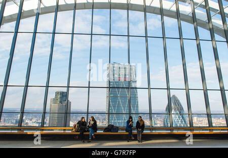 Sky Garden - London - Stock Photo