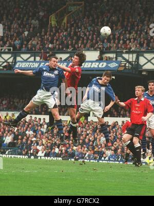 Soccer - Carling Premiership - Everton v Manchester United - Stock Photo