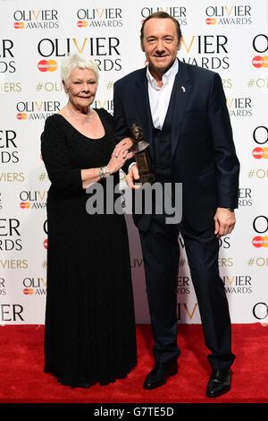 Olivier Awards 2015 - London - Stock Photo