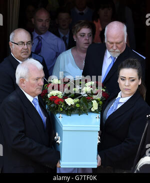 Hayley Okines Funeral