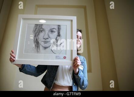 Texaco Children's Art Competition - Dublin - Stock Photo