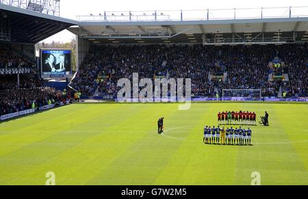 Soccer - Barclays Premier League - Everton v Manchester United - Goodison Park - Stock Photo