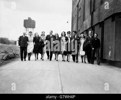UK Entertainment - Film - Pinewood Studios - 1946 - Stock Photo