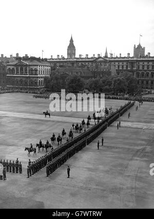 Royalty - Trooping of the Colour - Horse Guards Parade - Stock Photo
