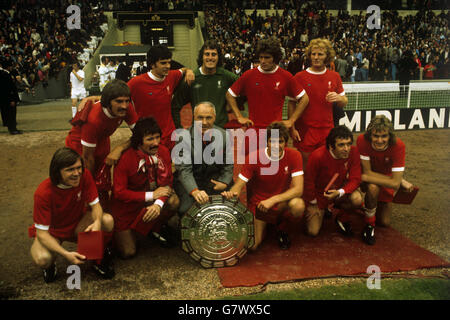 Soccer - FA Charity Shield - Liverpool v Leeds United - Wembley Stadium - Stock Photo